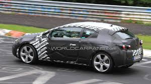 opel germany 2012 opel astra gtc opc three door latest nurburgring spy photos