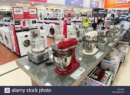 home decor store uk electrical kitchen appliances in comet store london england uk