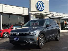 volkswagen tiguan 2018 interior used 2018 volkswagen tiguan highline 2 0t 8sp at w tip 4motion