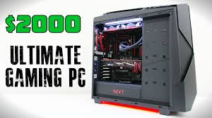 2000 ultimate gaming pc build january youtube