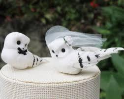 owl wedding cake topper owl cake topper etsy