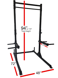 best squat rack with pull up bar 2017 reviews healthier land