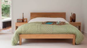 Oak Bed Frame Contemporary Wooden Bed Frames Rustic Modernden Oak Bedside Tables
