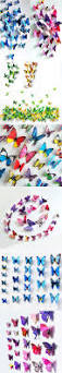 best 25 butterfly wall decals ideas on pinterest butterfly 12pcs pvc 3d butterfly wall decor cute butterflies wall stickers art decals home decoration