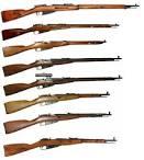 Nagant Russian Sniper rifle