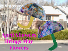 april showers brings may flowers coffee filter craft building our