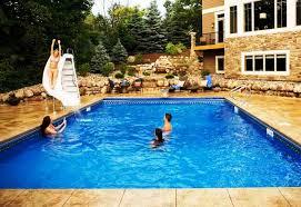 Small Backyard Pool Ideas Backyard Pool Landscaping Ideas U2013 Home Improvement 2017 Above