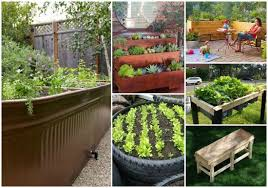 18 diy elevated planter boxes for easy gardening