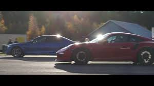 Porsche 911 Evolution - porsche 911 gt3 rs pdk vs bmw m5 f10 ess ecu supersprint