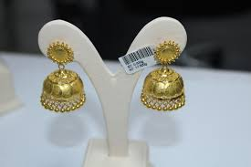 new fashion gold earrings earrings bhima jewellers