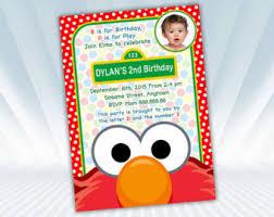 elmo birthday invitations orionjurinform com