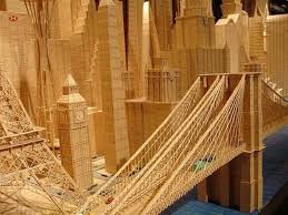 toothpick house incredible toothpick art by stan munro art babamail