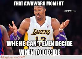 Funny Lakers Memes - nba memes of the day dwight lakers rockets of course