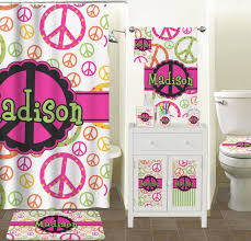 Bathroom Decor Set by Amazon Com Peace Sign Bathroom Accessories Set Personalized