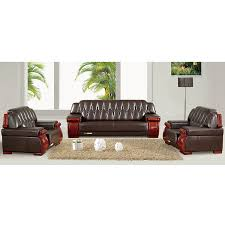 Reception Office Furniture office furniture deluxe edition vip reception office sofa leather