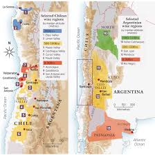 Uco Map Chile And Argentina Going To Extremes Decanter