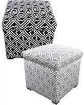 Ikat Storage Ottoman Tis The Season For Savings On Modern Blue Ikat Print Square