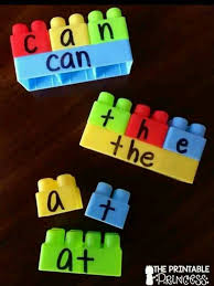 Room Dolch Word Games - build a sight word plus recording sheet autism asd and activities