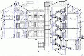 liria palace section architectural drawings pinterest