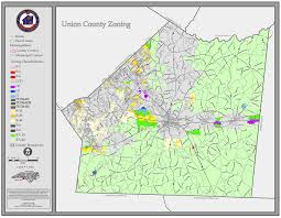 County Map Of Nc Union County Standard Maps