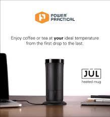 the jül heated smart mug for coffee u0026 tea indiegogo