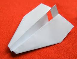 Origami With Letter Size Paper - how to make a paper airplane from a4 letter size 9 steps