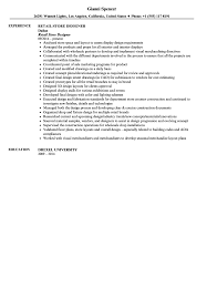 retail store designer resume sample velvet jobs