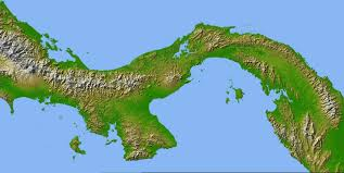 Italy Physical Map by Map Of Panama Cities