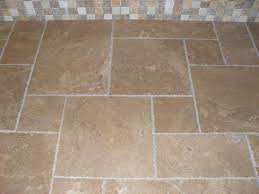 decorating chic travertine tile kitchen for the beauty of your