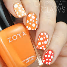 Different Shades Of Red Copycat Claws 40 Great Nail Art Ideas 3 Shades Of Red Orange