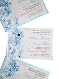 winter themed wedding invitations winter wedding invitations