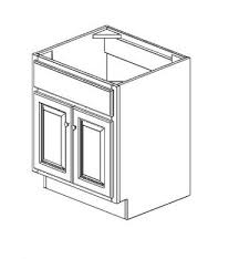 Standard Bathroom Cabinet Sizes by S3621b Bathroom Vanities Greystone Shaker Rta Kitchen Cabinet