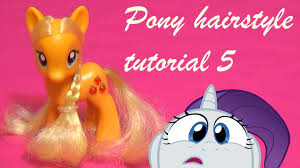 applejack hairstyles how to give applejack a super cute hairstyle makeover my little