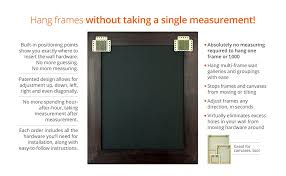 how to hang picture frames that have no hooks beehive picture hangers revolutionary picture frame hanging kit