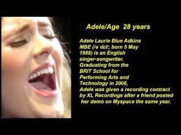 adele biography english adele age how did adele become famous adele hello youtube