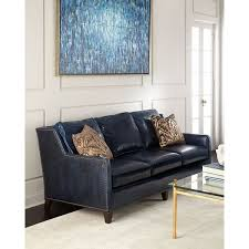 Navy Leather Sofa by Top 25 Best Navy Blue Leather Sofa Ideas On Pinterest