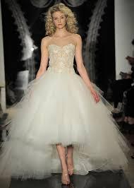 top 3 wedding dresses of the week high low hemline edition