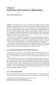 simulation and continuous optimization springer