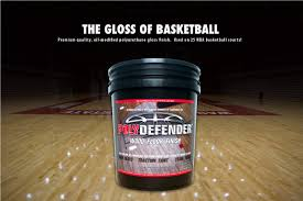 courtsports products polydefender wood finish gloss hardwood