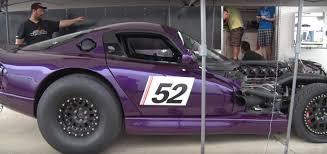 Dodge Viper Custom - 1 900 hp purple dodge viper tries to kill its driver while aiming