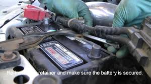 2004 honda civic battery how to replace a car battery honda civic sir shown