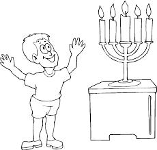 brilliant printable hanukkah coloring pages with menorah coloring