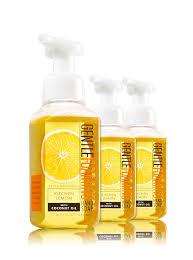 Soap Kitchen Kitchen Lemon 3 Pack Gentle Foaming Soap Bath U0026 Body Works