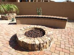 exterior handsome outdoor living space decoration with brown