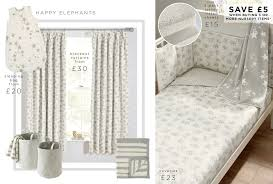Elephant Curtains For Nursery Buy Happy Elephant Blackout Pencil Pleat Curtains From The Next Uk