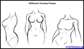 how to draw a body step by step figures people free online