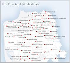 San Francisco Neighborhoods Map by Neighborhood News Rob Costabile