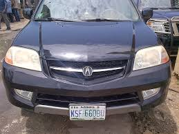 jeep acura 2003model acura mdx full options for sale in lagos nigeria well
