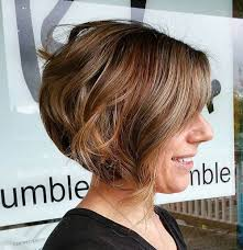 how to cut a aline bob on wavy hair 40 short bob hairstyles layered stacked wavy and angled bob