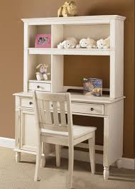 Antique White Desk With Hutch Daydreams Youth Student Desk Hutch In Antique White Finish For